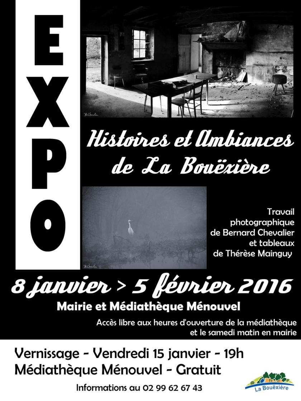 affiche expo la Bouexiere