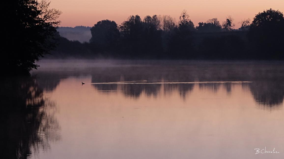 blog-bc-2018-34-Aube sur l'étang de Chevré